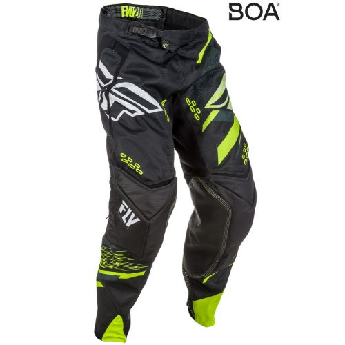 Pantalon Fly Evolution 2.0 Noir/Jaune Fluo