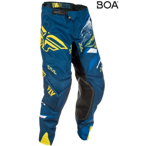 Pantalon Enfant Fly Evolution 2.0 Bleu/Jaune