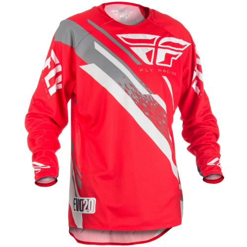 Maillot Fly Evolution 2.0 Rouge/Blanc