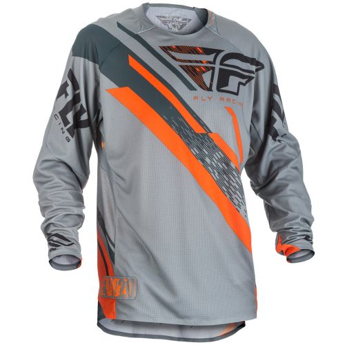 Maillot Enfant Fly Evolution 2.0 Gris/Orange
