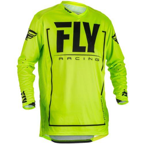 Maillot Fly Lite Hydrogen Jaune Fluo/Noir