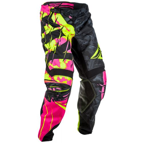 Pantalon Enfant Fly Kinetic Outlaw Rose/Jaune Fluo