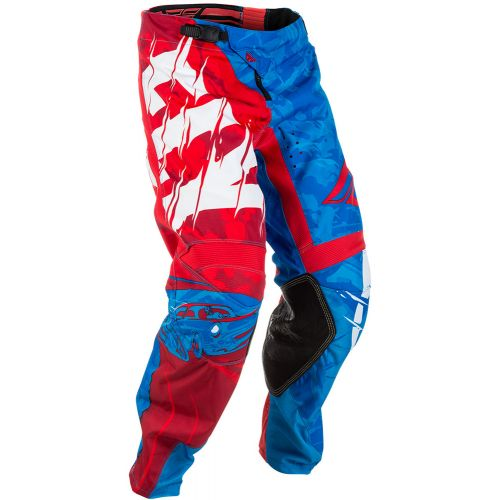 Pantalon Fly Kinetic Outlaw Rouge/Blanc/Bleu