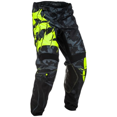 Pantalon Fly Kinetic Outlaw Noir/Jaune Fluo