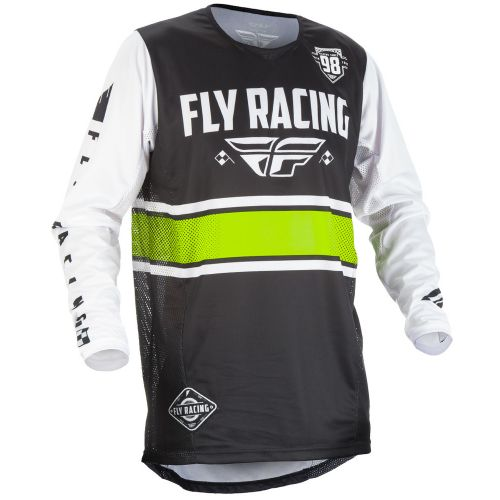Maillot Enfant Fly Kinetic Era Noir/Blanc