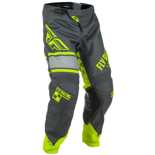 Pantalon Enfant Fly Kinetic Era Jaune Fluo/Gris