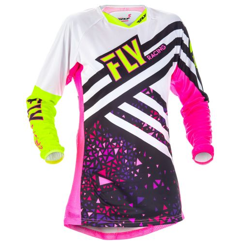 Maillot Fly Kinetic Femme Rose/Jaune Fluo