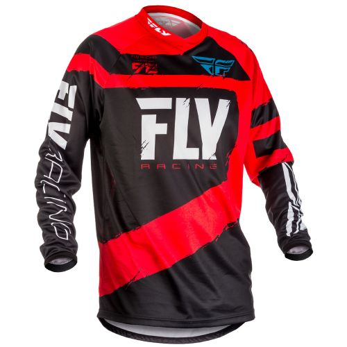 Maillot Fly F-16 Rouge/Noir