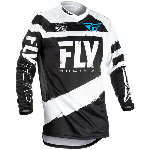 Maillot Fly F-16 Noir/Blanc
