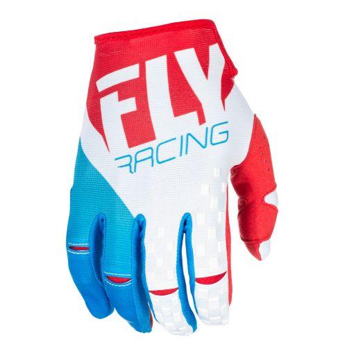 Gants Fly Kinetic Rouge/Blanc/Bleu