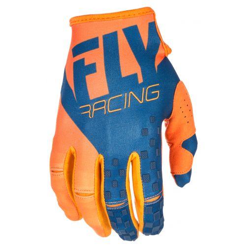 Gants Fly Kinetic Orange/Bleu