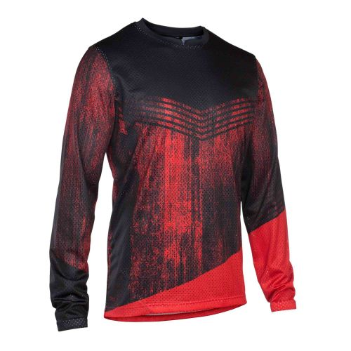 Maillot Manches Longues Ion Scrub 2018 - Rouge