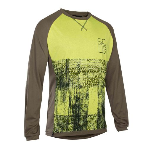 Maillot Manches Longues Ion Scrub Amp 2018 - Brun
