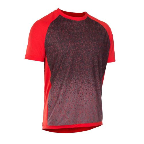 Maillot Manches Courtes Ion Traze Amp 2018 - Rouge