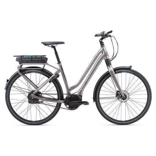 Vélo De Ville Electrique Giant Prime E+ 0 Bd Lds À Courroie 2018