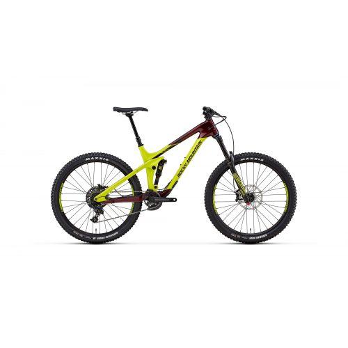Kit Cadre Rocky Mountain Slayer Carbon Jaune/Violet - 2018