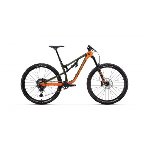 Vtt Tout-Suspendu Rocky Mountain Instinct Carbon 90 Bc Edition Orange/Kaki - 2018