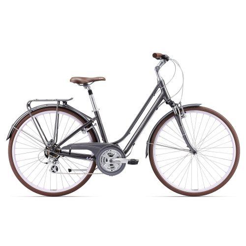 Vélo De Ville Femme Liv Flourish Fs 2 - Gris Foncé