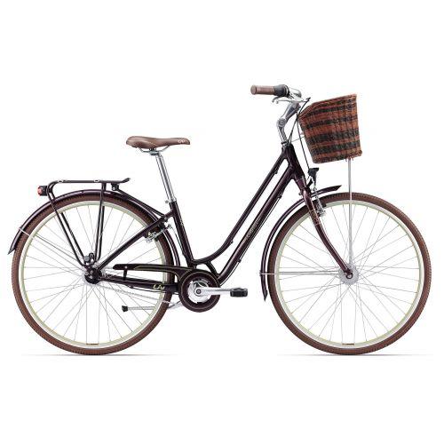 Vélo De Ville Femme Liv Flourish 1 - Gris Foncé