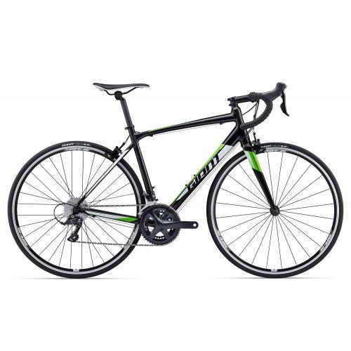 Vélo De Route Giant Contend 1 - Noir/Blanc/Vert