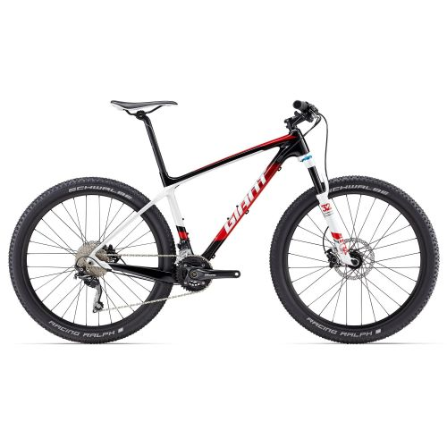 Vtt Semi-Rigide Giant Xtc Advanced 3 - Noir/Rouge/Blanc