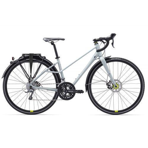 Vélo Tout Chemin Femme Liv Beliv 2 City - Titane
