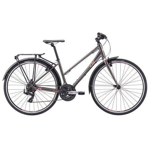 Vélo De Ville Femme Liv Alight 3 City - Gris